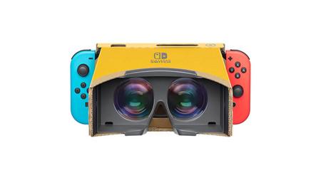 La realidad virtual llega la Nintendo Switch gracias al nuevo kit 'Nintendo Labo: VR'