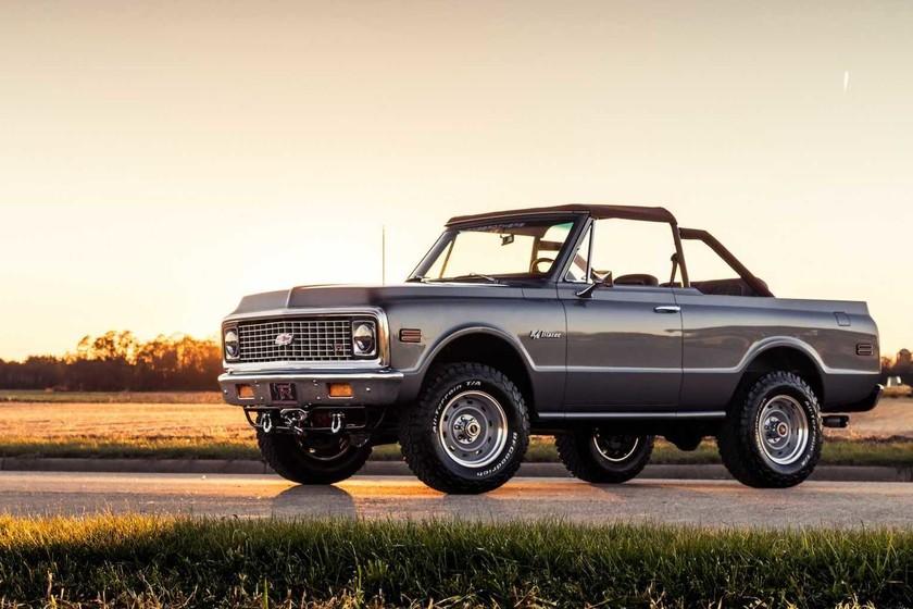 Ringbrothers pone al día esta Chevrolet K-5 Blazer de 1971, ahora con tecnología y prestaciones actuales
