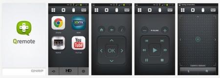 Aplicación Qremote para Android en Google Play