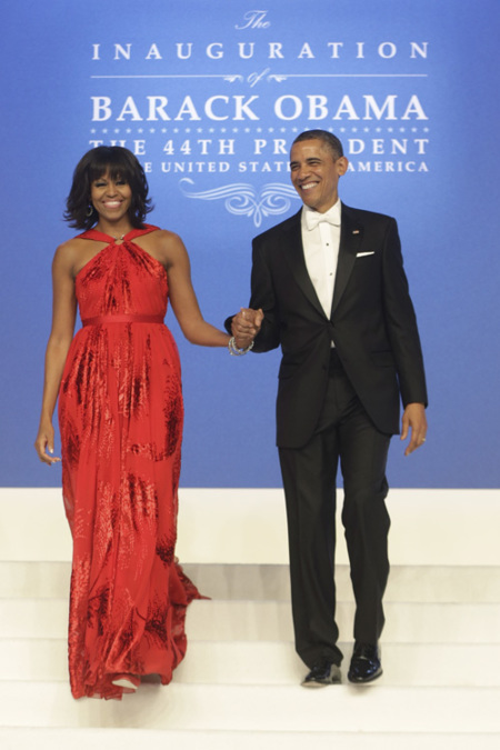 Michelle Obama baile 2013