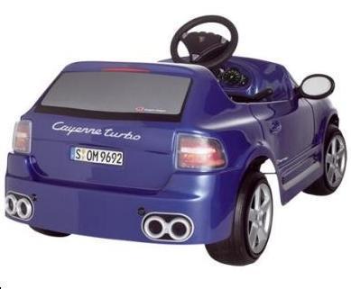 Un Porsche Cayenne para los niños