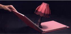 Lámpara libro