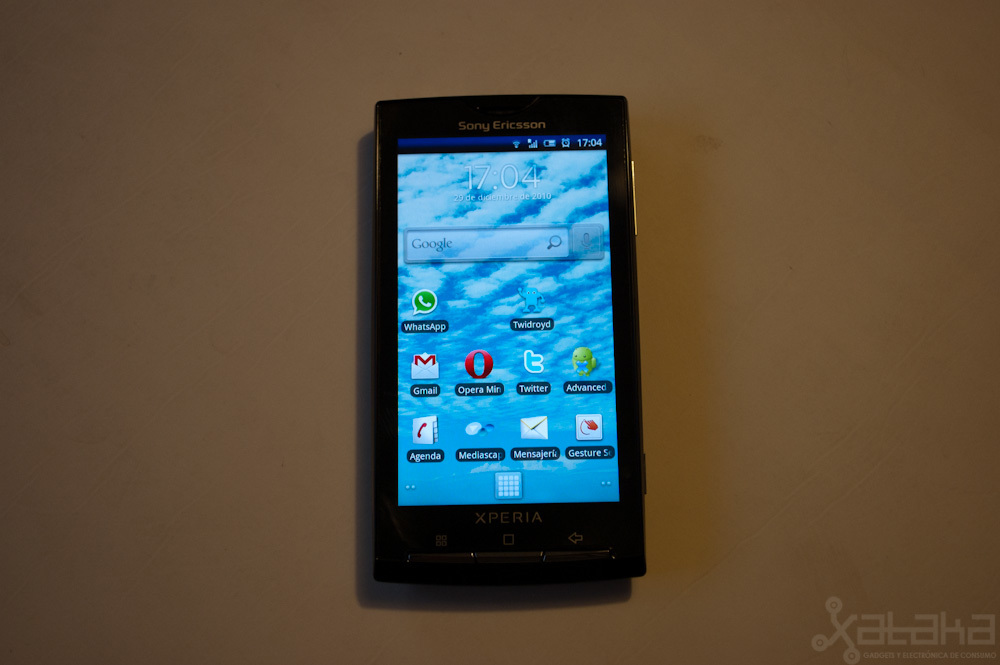 Foto de Sony Ericsson Xperia X10, análisis (2/8)