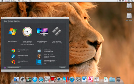 Parallels Desktop 7 añade soporte para Windows 8 y Mountain Lion