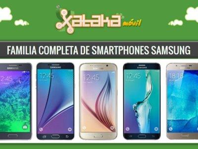 Así queda el catálogo completo de smartphones Samsung Galaxy