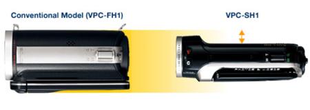 Sanyo Xacti VPC-SH1 y VPC-CS1, renovación en la gama