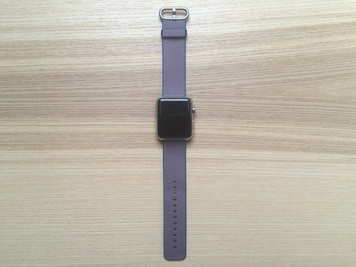 Análisis de la correa de nylon trenzado para Apple Watch