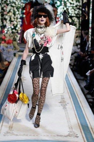 Lanvin HM, colección Alta Costura, vestido punk