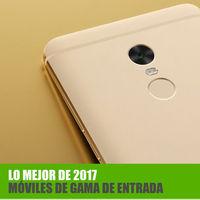Los mejores móviles de gama de entrada Android de 2017
