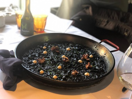 Arroz Negro, Restaurante Rocacho Madrid