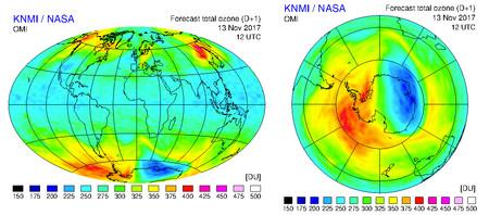 Ozono a tiempo real