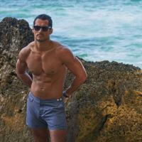 El modelo David Gandy diseña una colección de bañadores para Marks & Spencer