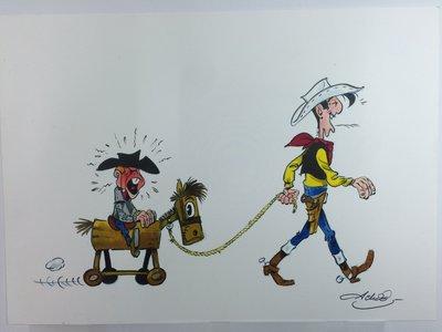 El Salón del Cómic de Barcelona dedicará una exposición a Lucky Luke