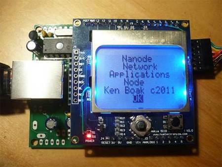Nanode, evolución del Arduino con conexión a red