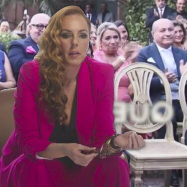"""Rocío Carrasco reservó el asiento (vacío) de su hijo David Flores el día que se casó con Fidel: """"No tenía que invitarlo a la boda, él era parte de ella"""""""