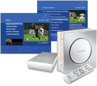 Siemens Gigaset M750T: sintonizador TDT con disco duro Lacie