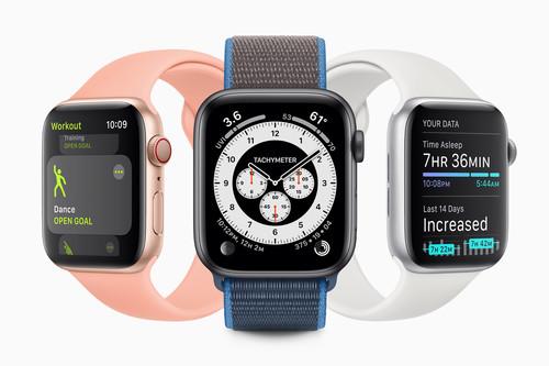 WatchOS 7, todas las novedades: monitorización de sueño, más modos deportivos y nuevas esferas para el Apple Watch