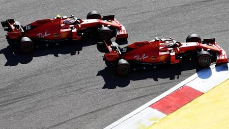 Vettel Leclerc Sochi F1 2019