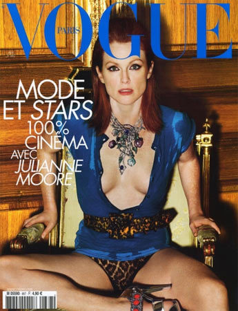 Julianne Moore en Vogue Francia