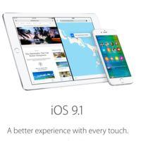 iOS 9.1 también ya tiene su primera beta pública