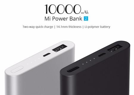 Oferta Flash: batería externa de 10000mAh Xiaomi Power Bank 2 por sólo 12 euros