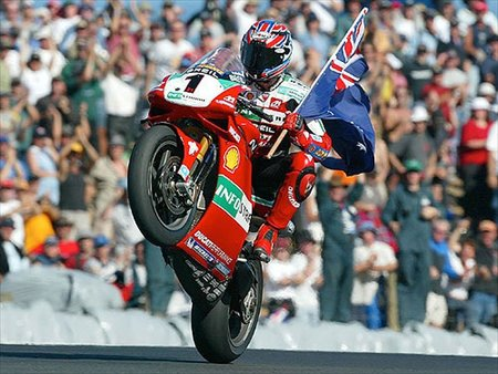 Troy Bayliss durante 2002