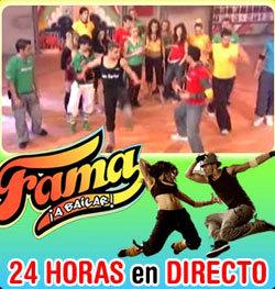 Cuatro ampliará Fama ¡A Bailar! hasta las 17:30, y ya podemos ver 'Fama 24 horas' gratis en Internet