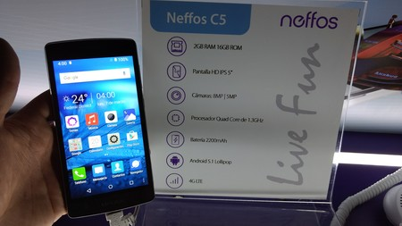 Neffos C5 Primeras Impresiones