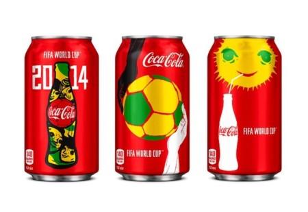 coca cola mundial brasil latas