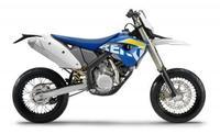 Husaberg FE570 con kit supermoto