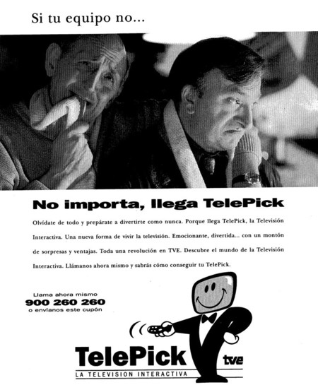 Anuncio de Telepick