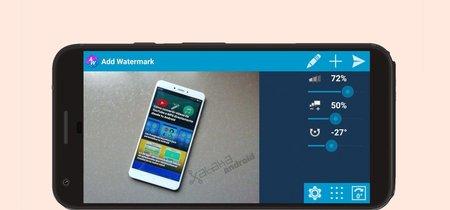 Cómo añadir marcas de agua en tus fotos desde un móvil Android
