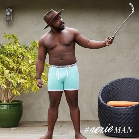 Ahora el hombre real también vende calzoncillos: así es la rompedora campaña #AerieMAN