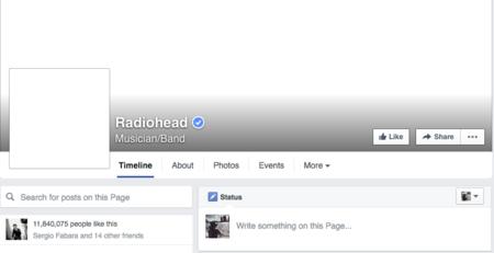 Radiohead Fb