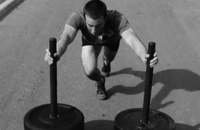 Ejercicios Crossfit (IX): Empuje de trineo o Prowler push