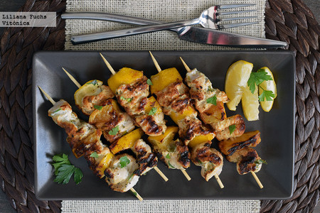 Brocheta Pollo