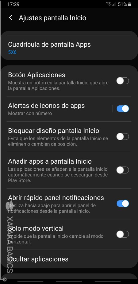 Panel Notificaciones