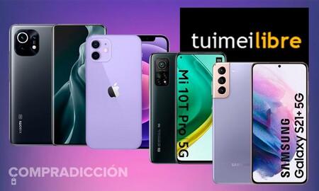 Precios sin competencia en tuimeilibre para smartphones de gama alta de Samsung, Xiaomi o Apple