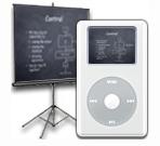 Utilizar el iPod para las presentaciones