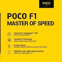 Desde España: Xiaomi Pocophone F1 de 64GB por 279 euros y envío gratis