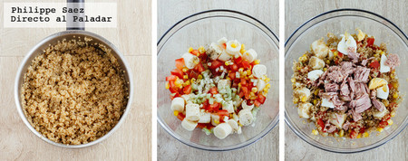Ensalada Quinoa Atun Receta