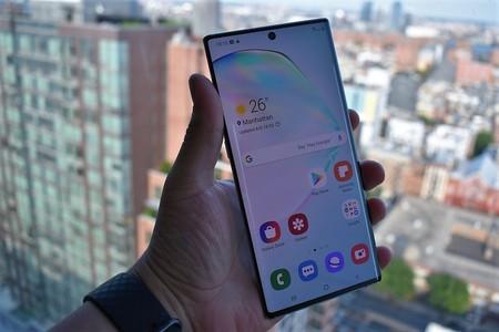 Samsung Galaxy Note 10 Plus Analisis Mexico Agarre