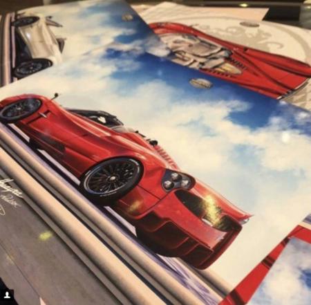 Se filtra una imagen de lo que podría ser el nuevo Huayra convertible