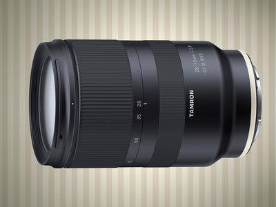 Tamron 28-75mm F/2.8 Di III RXD, se anuncia el primer objetivo zoom luminoso para cámaras Sony de formato completo