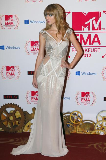 Taylor Swift MTV EMAS 2012