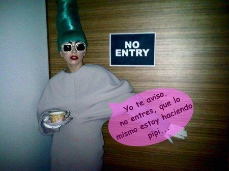Lady Gaga: que tengo pis, pues paso del baño