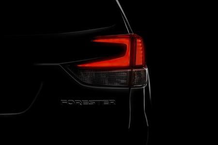 El nuevo Subaru Forester se asoma en la penumbra antes de su debut en Nueva York
