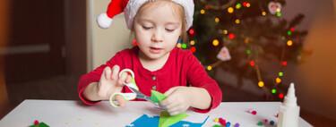 Manualidades de Navidad: 21 ideas navideñas fáciles y bonitas que podemos hacer con los niños