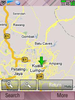 Google Maps nativo para UIQ3 y fring 3.30
