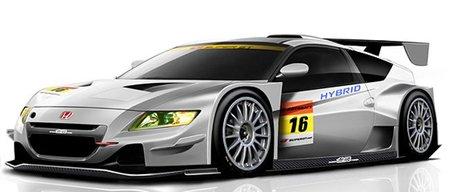 Honda CR-Z Hybrid para el Super GT